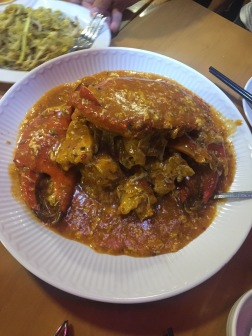 The Chilli Crab...